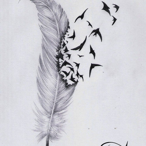 Default feather tattoo by ephygenia d5srt1t