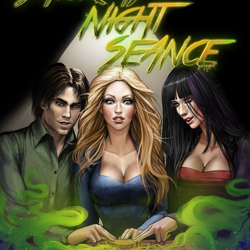 Default saturday night seance   comic cover for adrenaline by dannyrichardwriter daxtsco