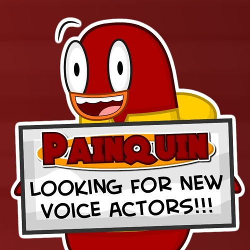 Default painquin auditions poster