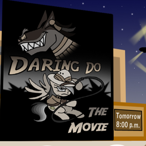 Default daring do   the movie title