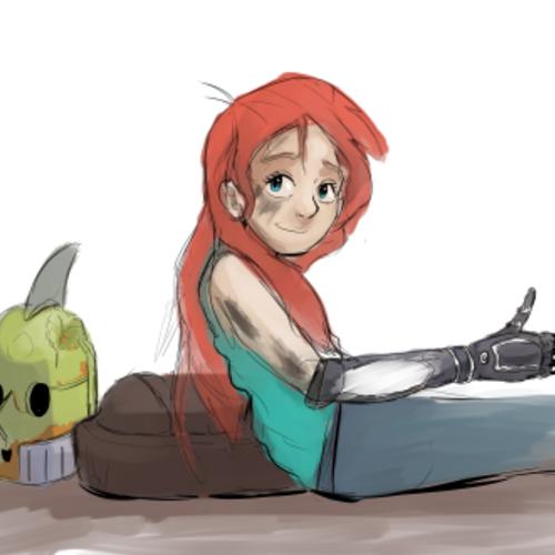 Default robot girl