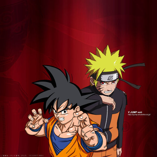 Default naruto and goku by aloli d58a21l