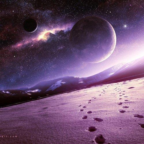 Default snow planet