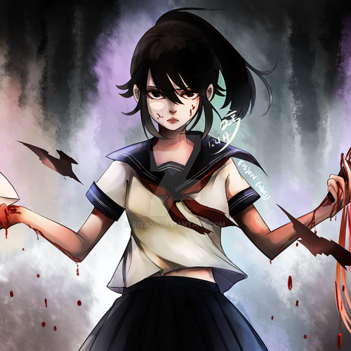 Default happy birthday yandere chan by eisjon db48whs