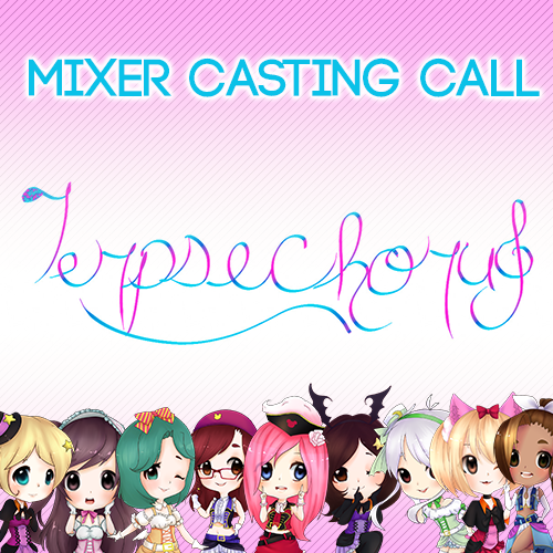 Default mixer casting call