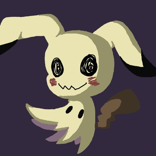 Default pokemon mimikyu by thesparkledash daa71j4