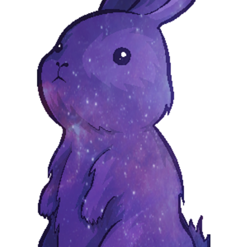 Default space bunny  transparent  by pinkowl99 d9rfos2