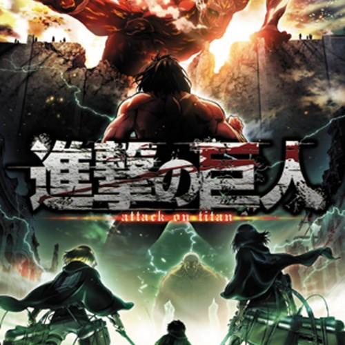 Default attack on titan season 2 key art maxi poster 1.81