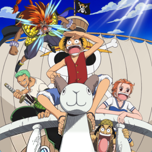 Default one piece movie cover
