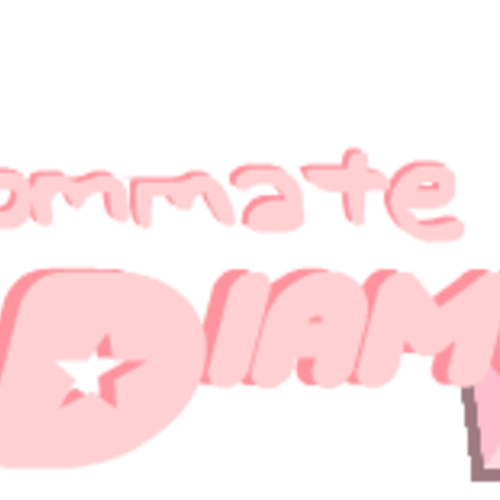 Default my roommate pink diamond logo