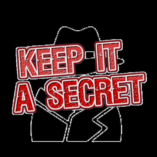 Default keep it a secret logo