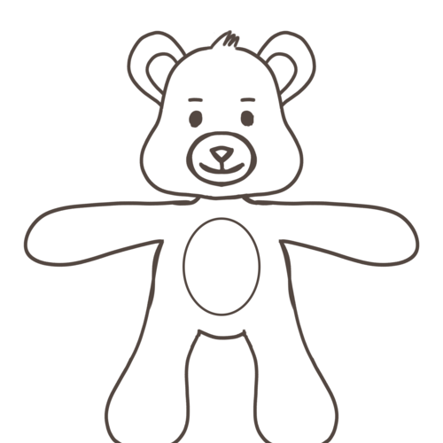 Default bear idea 5   front veiw