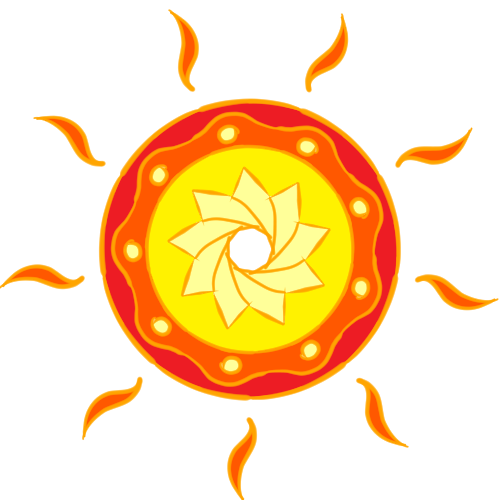 Default the better sunset mandala transparent