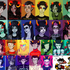Default all the characters all of them not really