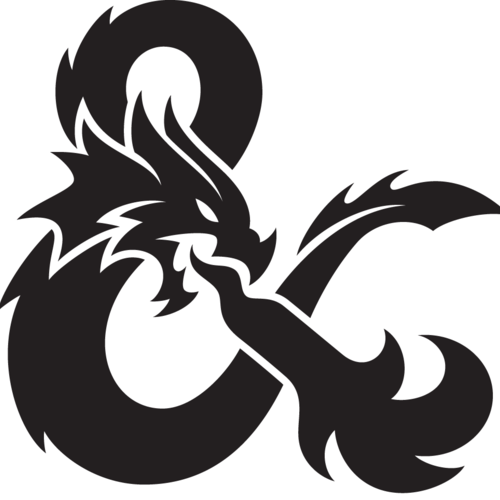 Default dungeons and dragons 40 ampersand flat