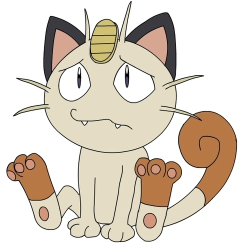 Default meowth   sad about something