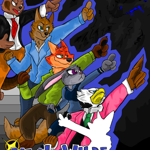 Default nick wilde  ace attorney fanfic cover by bakukurara dangs76