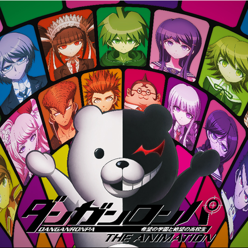 Default danganronpa the animation cover