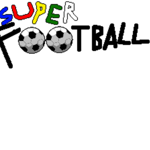 Default super football logo