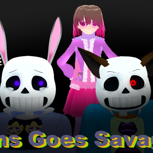Default sans goes savage remake thumbnail