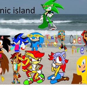 Default total sonic island