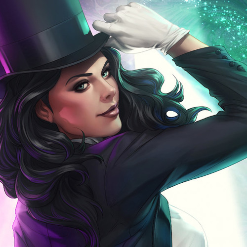 Default dc comics zatanna premium art print feature 500286aps