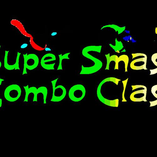 Default super smash combo class logo concept