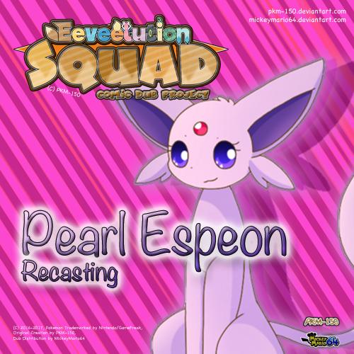 Default pearl recasting poster