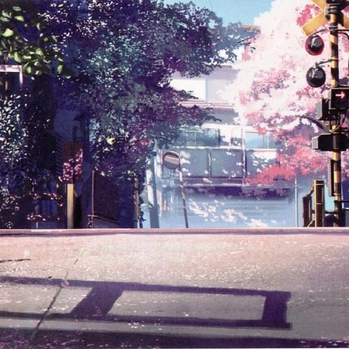 Default anime scenery digital wallpapers