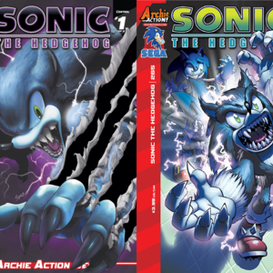 Default archie sonic the hedgehog control part 1 and 2 cover
