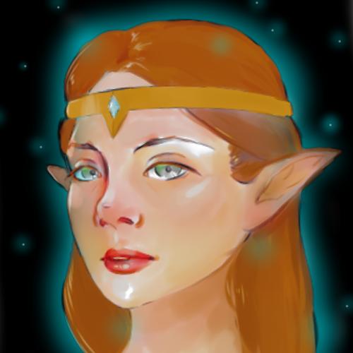 Default princess zelda headshot