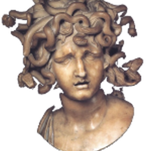 Default ancient bust medusa