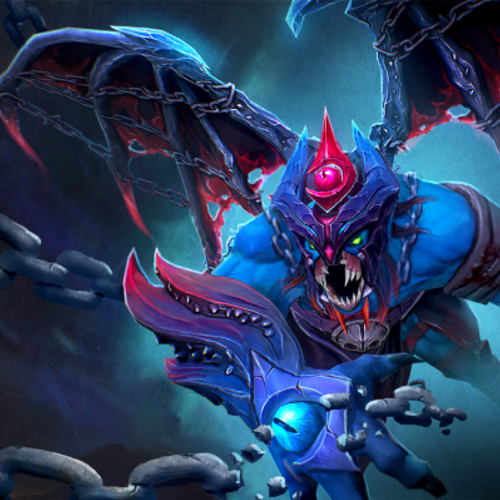 Default cosmetic icon loading screen of unfettered malevolence