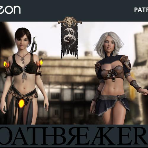 Default oathbreaker title screen