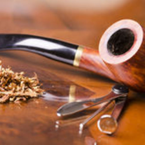 Default smoking pipe tobacco wooden table 36537923