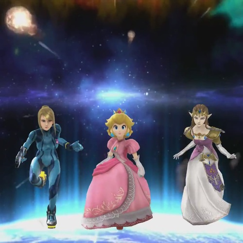 Default new super smash sisters for wii u  ns3u trailer  smash 4 machinima    youtube