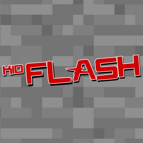 Default kid flash logo stone