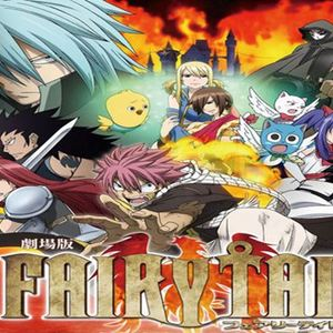 Default fairy tail movie poster