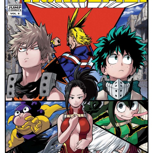 Default my hero academia manga vol 8