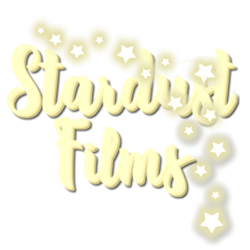 Default stardust films text with stars