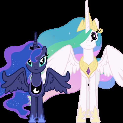 Default concerned princess celestia and princess luna by 90sigma d5ji4sj