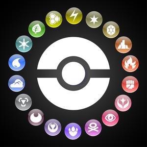 Default pokemon types wheel by kamionero d6u6o9i