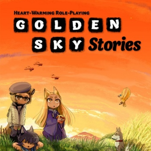 Default golden sky stories cover smoll