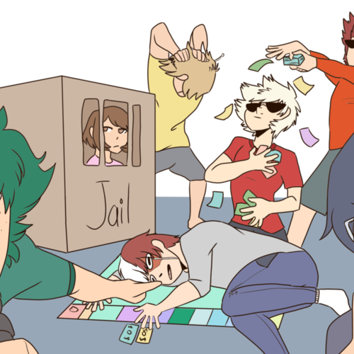 Default bakugou wins monopoly  bnha  by ravenfeather788 dbyeo8h