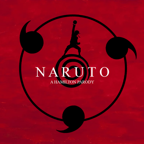 Default naruto cover with words