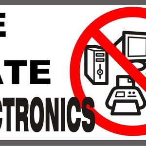Default we hate electronics