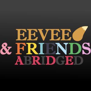 Default eevee and friends abridged logo