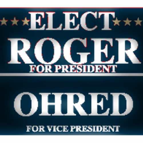 Default rogerohred campaign poster
