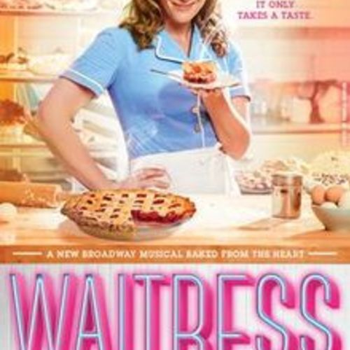 Default waitress musical broadway poster