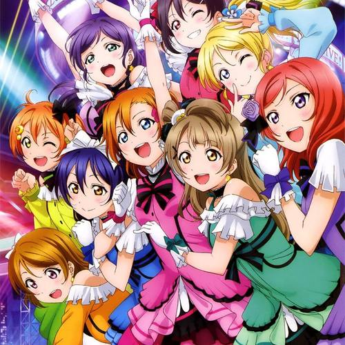 Default love live muse all together
